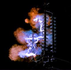 Thunder - lightning - electric arc (Tamtamhun (Darko)) Tags: 85mm f11