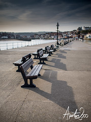 Whitby Benches (TheApertureMan) Tags: pier chairs seats whitby curve benches lead leadin