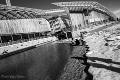 The Astrup Fearnley Museum [Explored] (Voss-Nilsen) Tags: travel shadow urban bw building water oslo norway by museum architecture strand digital canon buildings geotagged photography eos norge photo europa europe flickr foto shadows norden akerbrygge explore 5d nordic archetecture arcitecture scandinavia tjuvhol