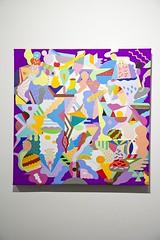 Neofauvismo 2, zosen y mina en colaboracion, 90 x 90cm acrilico.2013