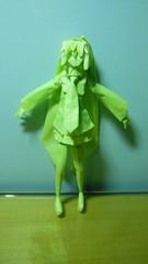 origami miku (origami-miku) Tags: paper origami papel hatsune miku vocaloid