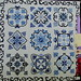 Talavera in Delft Blue by Valerie Salter, quilting by Richard Larson