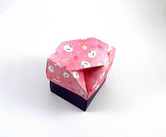 Box - Fuse (rebecccaravelry) Tags: origami box fuse tomokofuse
