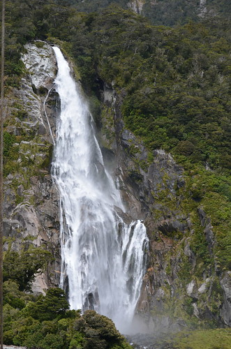 One of Milford Sound's Waterfalls
