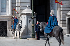 Mounted royal guard (stevesheriw) Tags: madrid spain espana changingoftheguard mounted royal guard europe