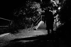 noir city (Emiliano Grusovin) Tags: street city shadow blackandwhite bw man hat night dark walking geotagged strada noir mood sony ombra highcontrast evil uomo trenchcoat lonely pancake alpha cinematic 16mm atmosfera ambience f28 notte biancoenero cappello gorizia cinematografico altocontrasto impermeabile mirrorless nex3