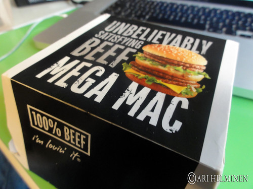 Japanese Mega Mac