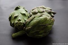Chokes (kitchenbeard) Tags: food green vegetables organic artichokes