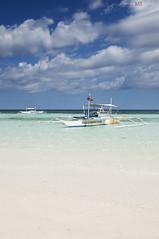 Panglao Island (Pugtastic!!) Tags: blue sea summer white beach water island sand philippines central clear tropical cebu bohol visayas panglao tagbilaran