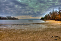 Kentucky Lake (MikeBlanton) Tags: lake seascape beach nature water canon landscape wildlife girlscouts eos300d hdr waterscape kentuckylake landbetweenthelakes lbl