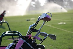 ready for the golf season (Grayling Visitors Bureau) Tags: golf grayling