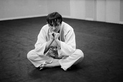 Musings of a Judoka. (Coldkennels) Tags: blackandwhite slr hp5 minoltax300 homedeveloped lc29 minoltamd5017 rollinaday rad20130320