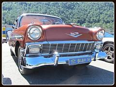 Chevrolet Bel Air, 1956 (v8dub) Tags: chevrolet bel air 1956 schweiz suisse switzerland american pkw voiture car wagen worldcars auto automobile automotive old oldtimer oldcar klassik classic collector