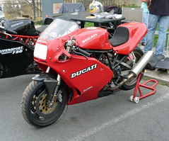 Ducati 750SS (kinsarvik) Tags: bazas salon automoto july 2016 ducati 750ss