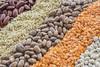 Legumes & Grains (yafit770) Tags: filltheframewithfood food grains lentils rice beans white orange red green earthtones macro texture macromondays legumes challengeyouwinner