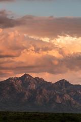 1608 Santa Catalina Sunset from The Cordones (c.miles) Tags: arizonastatetrustland cathedralrock clouds coronadonationalforest golderdome santacatalinamountains sunset thecordones windowrock