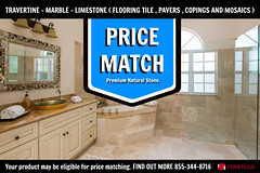 PRICE MATCH PREMIUM NATURAL STONE TRAVERTINE