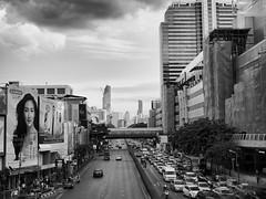Bye Bye Bangkok (fra_m88) Tags: blackwhite sun summer sunset art street landscape thailand smile spring thai bangkok love passion sky portrait square road