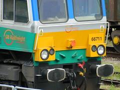 66711_05 (Transrail) Tags: class66 emd shed diesel locomotive coco gbrf tonbridge gbrailfreight 66711 aggregateindustries sence
