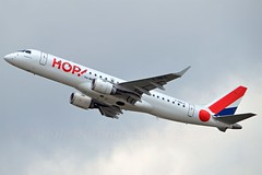 Hop! F-HBLG Embraer ERJ-190LR cn/19000254 @ EDDL / DUS 26-06-2016 (Nabil Molinari Photography) Tags: hop fhblg embraer erj190lr cn19000254 eddl dus 26062016