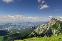Zakopane u podna Giewontu (czargor) Tags: giewont outdoor mountains mountainside inthemountain nature landscape