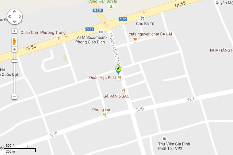Khai trương siêu thị Điện máy XANH Phước Bửu, Xuyên Mộc