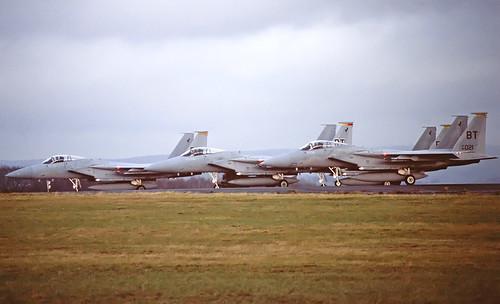 USAF F-15 Tigers