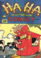 Ha Ha 6 (Michael Vance1) Tags: art adventure artist anthology comics comicbooks cartoonist funnyanimals fantasy funny humor goldenage