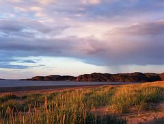 *** (godzundza) Tags:     russia barents sea kola peninsula landscape outdoor sand sky sunset rain analog film kodakektar100 kodak mamiya645afd mamiya manual 120
