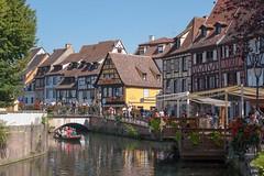 Colmar - Petite Venise (corentin.sch) Tags: petite venise colmar alsace canon barque colombages maison