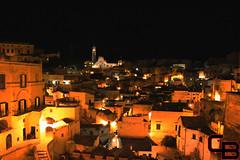 mater (CARLO B. sh) Tags: matera panorama italia citt murgia basilicata night light church europe capitalofculture 2019 historiccity landscape house 700d canon