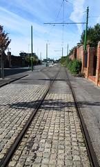 Tracks of my tears (White Pass1) Tags: wirraltramwayandtransportmuseum birkenheadtrams birkenhead woodsideferryterninal tramtracks trams