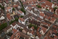 Ulm From Above (milo J) Tags: ulm city germany baden württemberg europe cathedral münster sony a6000 digital mirrorless town roofs architecture traditional country landscape cityscape
