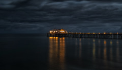 Dark Blue Malibu (Wilkof Photography) Tags: malibupier malibu pier california southerncalifornia socal architecture beach beachfront canont4i cloudy canon countryside cloudcover colorful dark dusk evening horizon hazy landscape light 18135mm 24mm lens longexposure neutraldensity le moody nature natural night nightshot overcast outside ocean oceanfront perspective panoramic pacificocean picturesque reflection shadow skyline scenic sky sunset sundown sea seascape symmetry serene tranquil tide lowlight lowtide lowangle boardwalk fishing view visibility water wet waterfront windy waves wilkofphotography 1