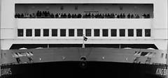 Home again (kate&drew) Tags: 2016 boat england ferries ferry kingseaways northshields september tyne tyneandwear dfds blackandwhite monochrome