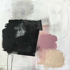 Monica Perez  Black Blush No 2, 2016. Painting: mixed media on canvas, 61 x 61 cm. Abstract ExpressionismDrip2016 Art (ArtAppreciated) Tags: fineart painting blogs tumblr artblogs artappreciated artoftheday artofdarkness artofdarknessco artofdarknessblog monica perez 2016 art abstract expressionism date2016 2010s color block drip minimal minimalism modern modernism nonrepresentational abstraction contemporary female artists squares