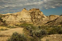 Dinosaur P.P. 1, Alberta (Mala Gosia) Tags: kajtek malagosia aug282016 dinosaurprovincialpark alberta ab hoodoo hoodoos outdoor canoneos6d landscape canada badlands rocks rockformation rock