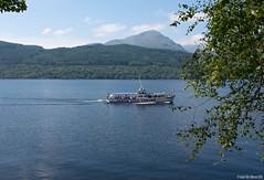 Loch Lomond, Scotland (andrriis) Tags: west highland way scotland loch lomond ferry summer water