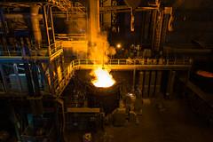 Ironworks (Ash and Debris) Tags: mill tank iron industrial facility industry works factory dnepr plant fuse warm ukraine dnepropetrovsk melting ironworks smelt vat melt work fire metallurgy metal