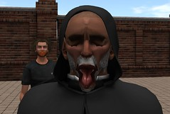 Cum face (jarmade) Tags: second life secondlife funny cumming stupid face
