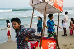 Chennai, India 2016 (f.d. walker) Tags: asia chennai india streetphotography street sunlight shadow streetportrait sun sky sea candidphotography candid color clothes colorphotography contrast colors children child city ocean oceanfront beach face faces icecream frame frames layers madras man men girl boy girls boys sand waves wave