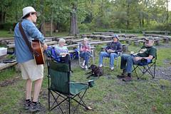 1368 (Jean Arf) Tags: trumansburg ny newyork summer 2016 cayuga lake kerry guitar music jim yvie kevin joanne annie dog
