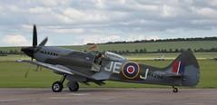 Spitfire 23 20120701 (Steve TB) Tags: iwm duxford flyinglegends 2012 canon eos5dmarkii supermarine spitfire mkxiv