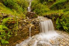 The flow (vyshaks) Tags: travel vacation canon7d canon roopkundtrek himalayas sigma1020 longexposure waterfalls