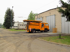 Technical vehicle, Star 29, Tramwaje lskie (transport131) Tags: tram tramwaj t bdzin kzk gop star 29