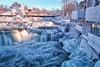 Frozen Winterland (Perry McKenna) Tags: ontario ice water canon river flow frozen dam waterfalls mississippiriver day5 umbrellas almonte balconywithaview 05jan13 day5365 35lf14 5diii 3652013 365the2013edition frozenumbrellas notthesamemississippi