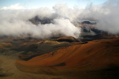 Haleakala Crater, Maui (LindaJ55) Tags: mountain holiday clouds canon island volcano hawaii rocks paradise maui haleakala crater huge magnificent houseofthesun