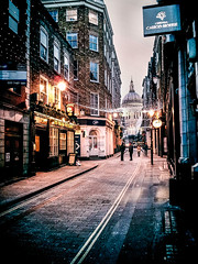 The Lane to St Paul's