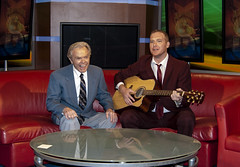 Mike Polk and Dick Goddard (.:Chelsea Dagger:.) Tags: ohio weather book published cleveland clevelandohio foxnews comedian local publisher weatherman fox8 dickgoddard chelseadagger grayco chelseakaliwhatever mikepolk cmckeephotography damnrightimfromcleveland chelseamckee mikepolkjr