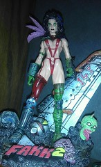 Julie Strain HEAVY METAL 2000 F.A.K.K. Fantasy Figure...  Shot with my Cell Phone Camera is a lot of fun!  It won't replace my Canon 40D, for sure, but it is fun and Quick. ~ IMAG0341-1 (BrandyVSOP) Tags: camera red woman records tower statue metal lady female toy doll 2000 julie phone action vinyl picture cell plastic fantasy figure heavy figures exclusive collectibles pvc figureine strain regular redoutfit 2013 fakk2 dpstoys htcevov4g faakk2 sexyfantascy